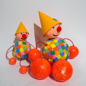 Des marionnettes pour s'amuser pendant le carnaval