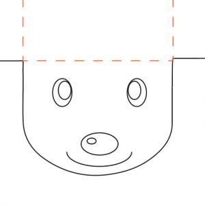 Pour ce dernier modèle de pochette cadeau renne pour Noël, Tête à modeler vous propose une pochette à colorier. Le corps du renne (la pochette elle-même) comme les bois et les oreilles, tout est à colorier !