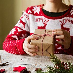 Pochettes et sacs cadeaux de Noël
