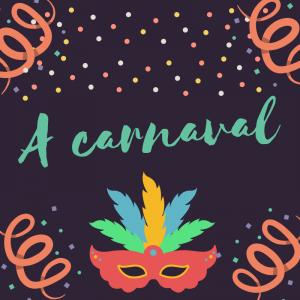 """Poésie """"A carnaval """". Un beau poème à imprimer, à colorier, à réciter et à continuer en s'amusant à faire des rimes avec les prénoms . Le Po&e"""