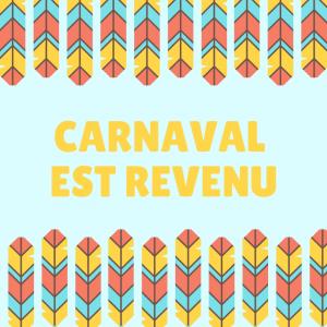 """Poésie """"Carnaval est revenu """". Un beau poème à imprimer, à colorier et à réciter . Le Poème Carnaval est revenu est adaptée pour les enfants de primaire , il"""