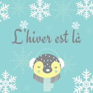 Petite poésie d'hiver à mimer, Poésie illustrée à imprimer et à colorier