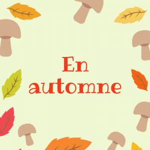 Poème pour la parler de l'automne , Poésie illustrée à imprimer et à colorier