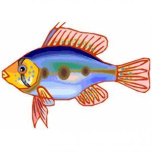 Imprimer le poisson d'avril à découper 12 Un poisson à imprimer pour le 1er avril
