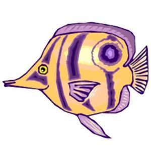 Imprimer le poisson d'avril à découper 15. Un poisson à imprimer pour le 1er avril