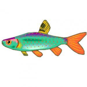 Imprimer le poisson d'avril à découper 14 Un poisson à imprimer pour le 1er avril