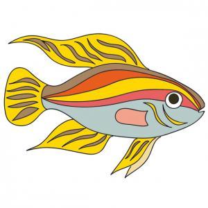 Poisson toxic ? Un poisson a imprimer. Ce poisson à de belles couleurs, mais est-il toxic ? Les plus beaux poissons sont souvent les plus toxic ...