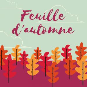 """La poésie """" Feuille d'automne """" de Charlotte Serre est à lire, réciter et illustrer. Une activité à faire à l'occasion de l'automne."""