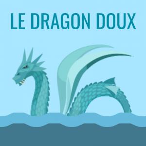 Une poésie de Raymond Queneau qui parle du dragon doux, un serpent de mer , trop doux pour intéresser plus longtemps les gens dans le port où il se montre . Le dragon doux est un joli poème à lire, à colorier, à réciter.