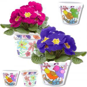 Pot de fleurs personnalisé