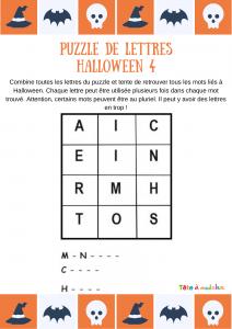 Jeux Halloween A Imprimer Ou A Fabriquer Avec Tete A Modeler