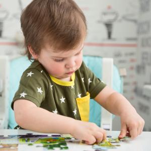 Le puzzle est un jeu de développement complet qui permet à l'enfant de mettre en ouvre ses capacités. Choisir le puzzle adaptés à votre enfant. A partir de 2 ans le développement intellectu