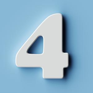 quatre - mot du glossaire Tête à modeler. Définition et activités associées au mot quatre.