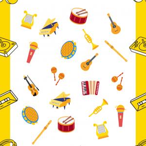 Imprimez gratuitement ce jeu pour la Fête de la musique ou pour une semaine sur le thème de la musique. Tous les instruments vont par paires sauf 2. Il faudra les trouver.