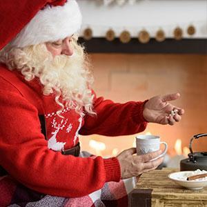 Toutes les réponses aux questions des enfants sur le Père Noël :Quels gâteaux et attentions laisser au père Noël ?