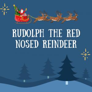 chanson Rudolph the red nosed reindeer. Apprenez la chanson de Noël en anglais et imprimez gratuitement les paroles.