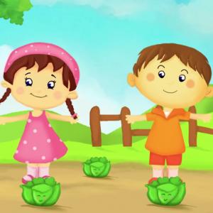 Savez vous planter les choux la célèbre comptine pour enfants à découvrir en vidéo et imprimer les paroles. Une chanson pour s'amuser, mimer et pour découvrir les différentes parties du corps. Elle est idéale pour les maternelles.