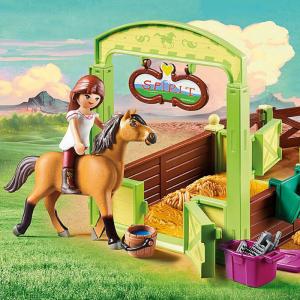 Vos enfants sont fans de la série télévisée d'animation Spirit Riding Free ? Vous aimeriez qu'ils passent un peu moins de temps devant la télévision et qu'ils se consacrent davantage à jouer loin des écrans ? La collection Playmobil® Spirit