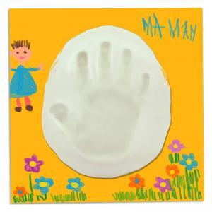 Tableau empreinte de main d'enfant pour maman