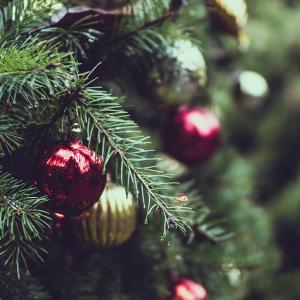 Les tendances 2017 pour la couleur du sapin de Noël