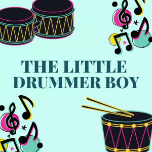 "The little drummer boy.  Chanson The Little Drummer Boy, la version en anglais de la chanson "" L'enfant au tambour"". Une chanson de Noël en anglais pour chanter avec les enfants. Paroles avec version pour carnet de chants.Paroles de la"
