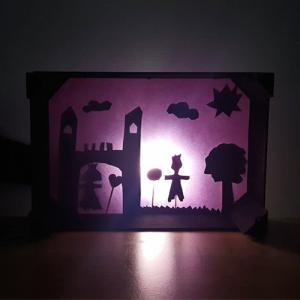 fabriquer nun théâtre d'ombres chinoises maison