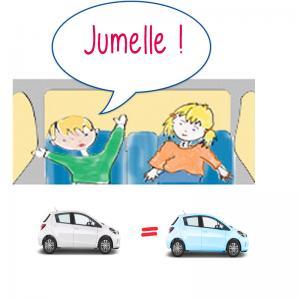 Trouver la voiture jumelle
