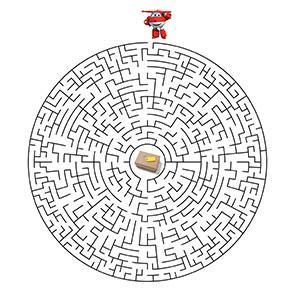 Télécharger et imprimer gratuitement ce jeu de labyrinthe Super Wings