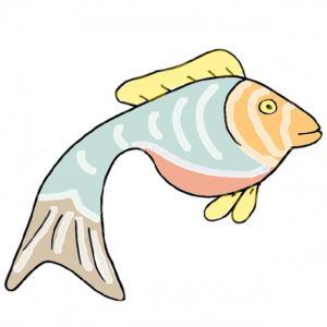 Une image de poisson d'avril gratuite à imprimer pour faire les farces du 1 er avril. Imprimez l'image du poisson et c'est joué !