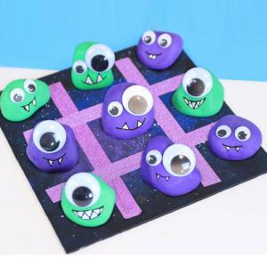 Comment fabriquer un jeu de morpion avec les enfants ?