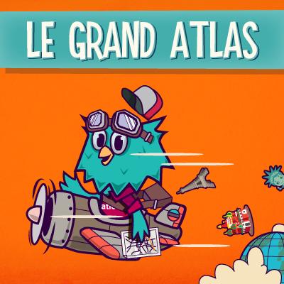 Le Grand Atlas est un jeu interactif en ligne pour apprendre la géographie en s'amusant et découvrir où se placent les capita...