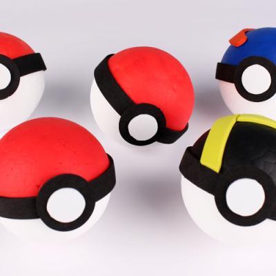 Tuto pour fabriquer une Pokéball - DIY enfant