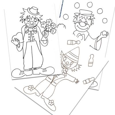 Coloriage clowns