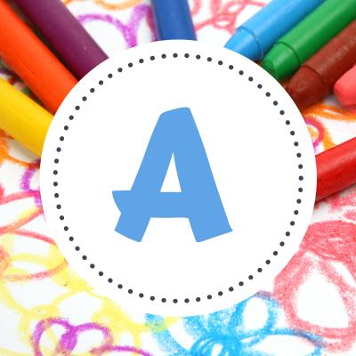 Coloriage des prénoms qui commencent par A