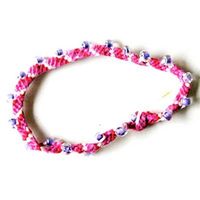 Bracelet bresilien avec perles de rocailles