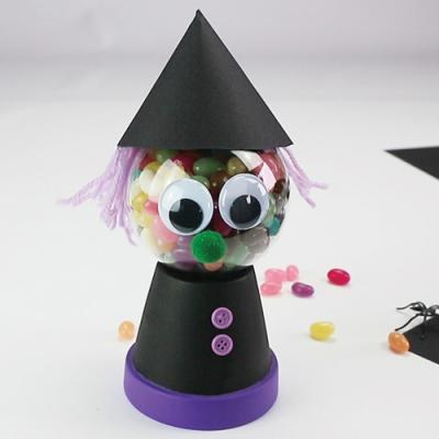Bricolage Halloween Facile Activité Halloween Avec Tête à