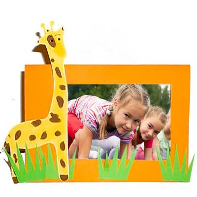 Fabriquer un cadre décoré d'une girafe