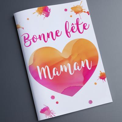 carte pour la fête des mères Cartes de Fête des mères à imprimer avec Tête à modeler