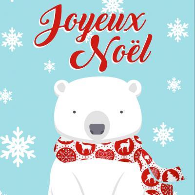 Des cartes de Noël prêtes à imprimer pour souhaiter un joyeux Noël à sa famille et ses amis ! Il suffit d'imprimer les cartes directement sur de la carte forte puis d'y écrire un petit mot d'amour. Une carte rapide à faire et économique !