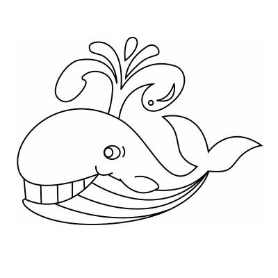 Dessins à imprimer pour le coloriage des baleines. Le coloriage est une activité amusante pour découvrir les baleines,apprendre à mieux les connaître et apprendre leur nom. Le coloriage est l'occasion de découvrir les différentes sortes de baleine