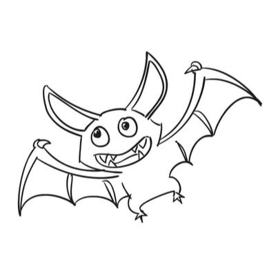 Coloriage chauve souris : vous recherchez un coloriage avec une chauve souris à imprimer gratuitement ? Découvrez sans plus attendre notre sélection de dessins de chauve-souris.