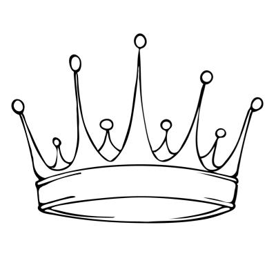 Coloriage de couronne à imprimer pour les enfants afin de les occuper pendant l'épiphanie. Des coloriages à imprimer gratuitement sur l'épiphanie et les couronnes.