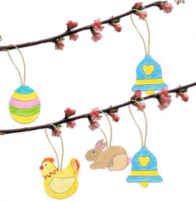 Coloriage de motifs de Pâques