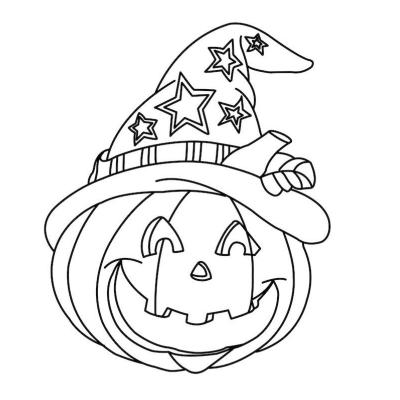 Coloriage Halloween Dessin Halloween Facile Avec Tête à