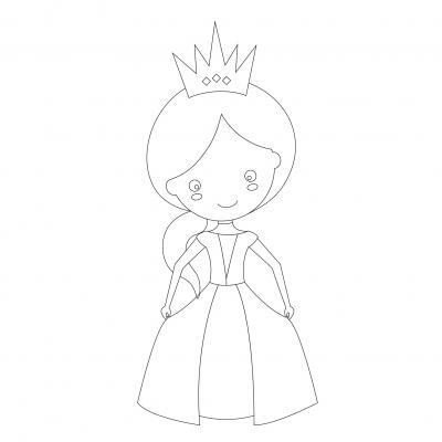 Coloriage Princesse Coloriage Princesse En Ligne Gratuit A Imprimer Sur Tete A Modeler
