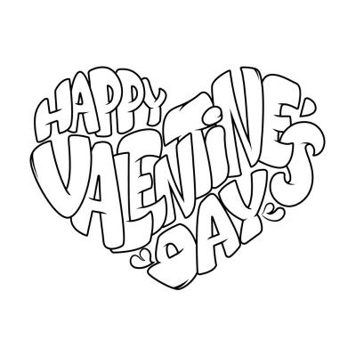 Coloriage Saint Valentin : tous les dessins à imprimer de ...