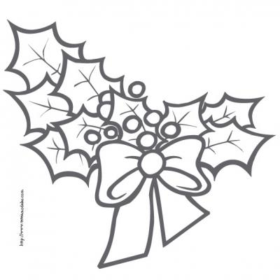 Coloriage Symboles De Noël Coloriages De Noël