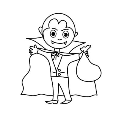 Coloriage vampire : avec leur teint blanchâtre, leurs longues dents et leur cape noire, les vampires font partie des personnages qui font le plus peur aux enfants pour Halloween et ils adorent ça ! Voici donc nos coloriages de vampires. Une bonne idée de