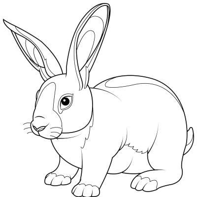 Les enfants adorent les lapins, voici tous les coloriages de lapins qu'ils pourront imprimer sur Tête à modeler. Ciliquez sur les ...