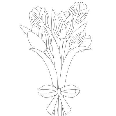 Coloriage fleurs du monde à imprimer pour apprendre le nom des fleurs et améliorer la dextérité de l'enfant.  Une fois que vous avez imprimé les coloriages de fleurs, il ne reste plus qu'à les colorier. Découvrez la collection de coloriage de fleurs : col